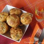 Muffin con mortadella