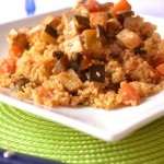 Cous Cous vegetariano con tofu