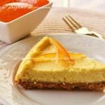 Cheesecake al profumo di arancia