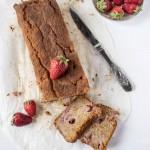 Cake al semolino e fragole