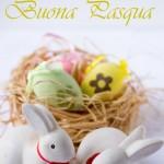 Pastiera Tradizionale con crema e Auguri di Buona Pasqua