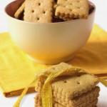 Biscotti integrali di kamut e sciroppo d'acero