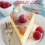Hot milk sponge cake-Torta al latte caldo e Buon Compleanno Ricordi e Tradizioni