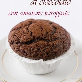 """Muffin goloso al cioccolato con """"sorpresa"""""""