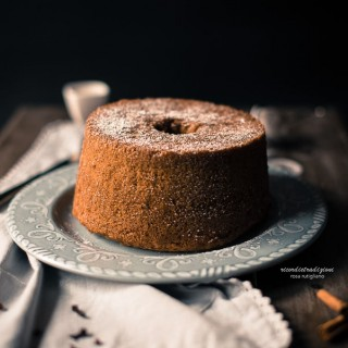 Fluffosa (chiffon cake) speziata