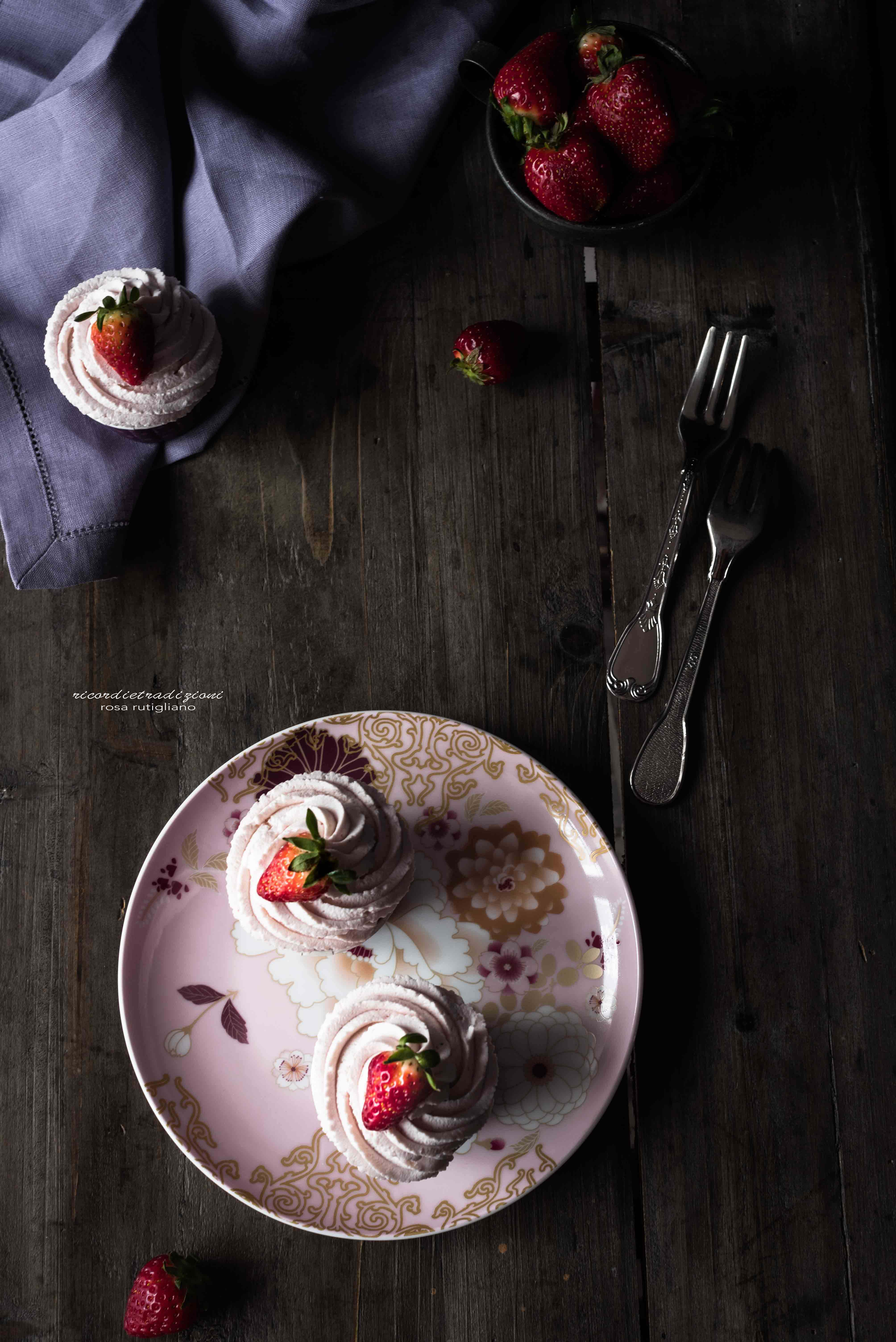 strawberry cupcakes 6
