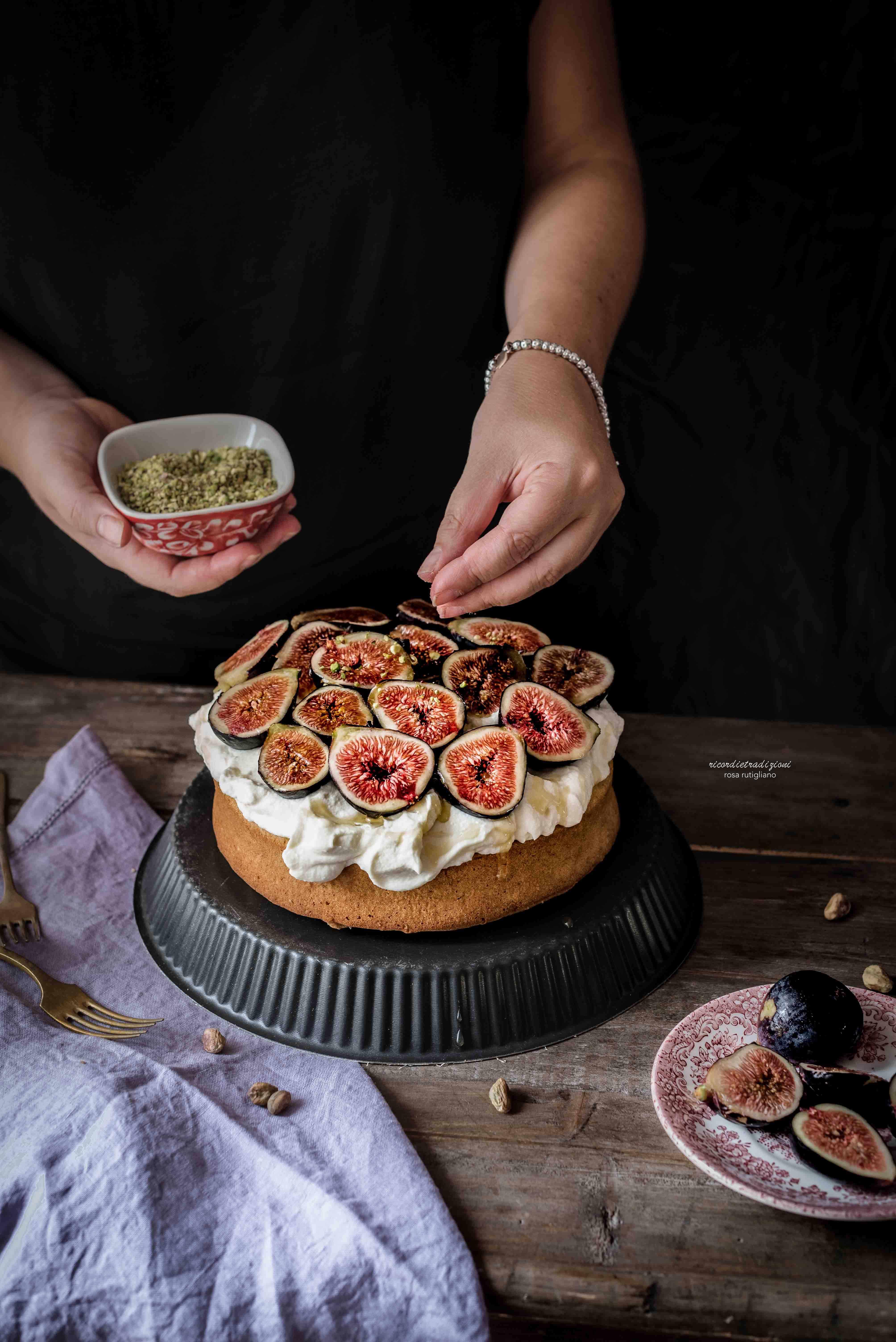 torta-mascarpone-fichi-miele-3