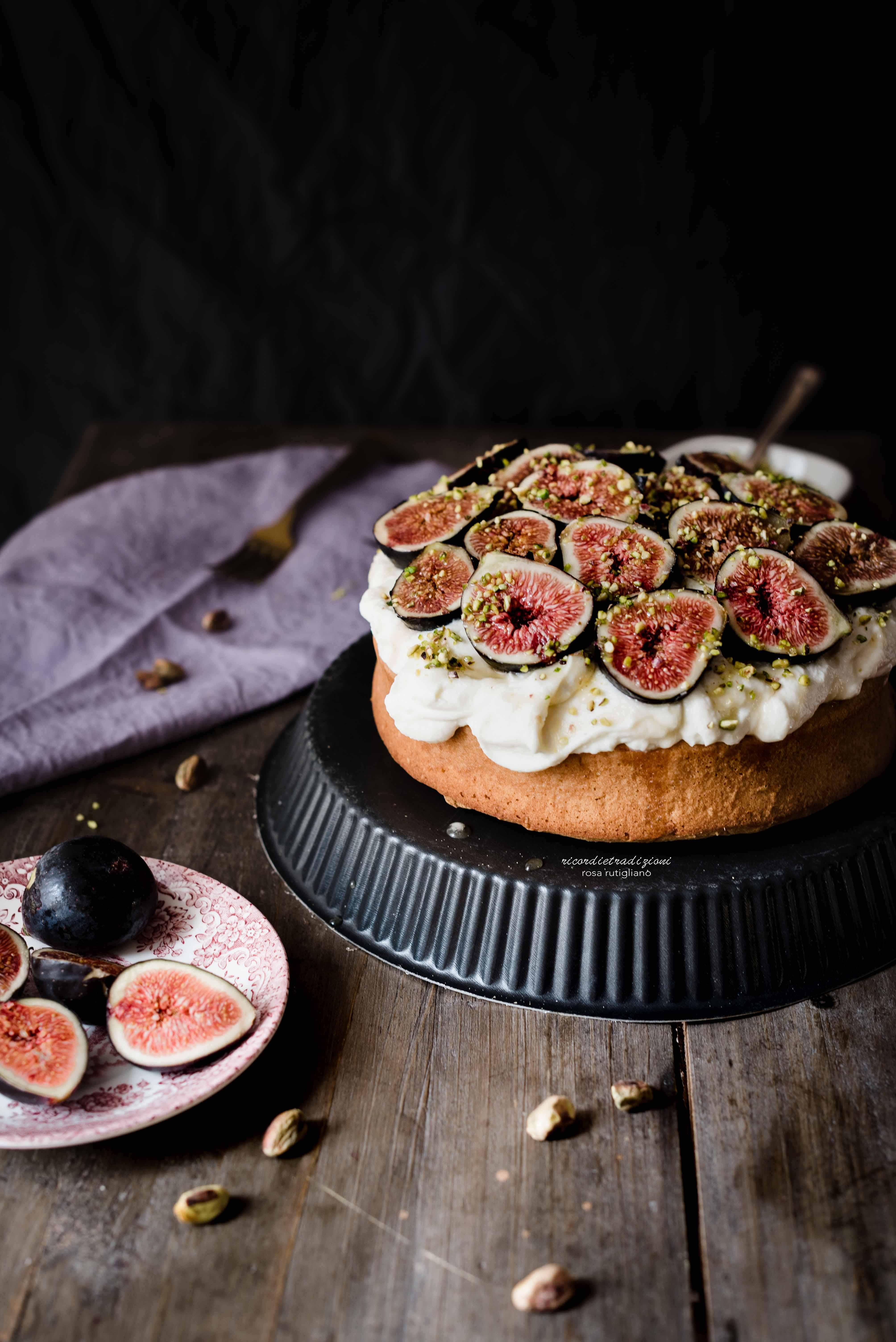 torta-mascarpone-fichi-miele-4