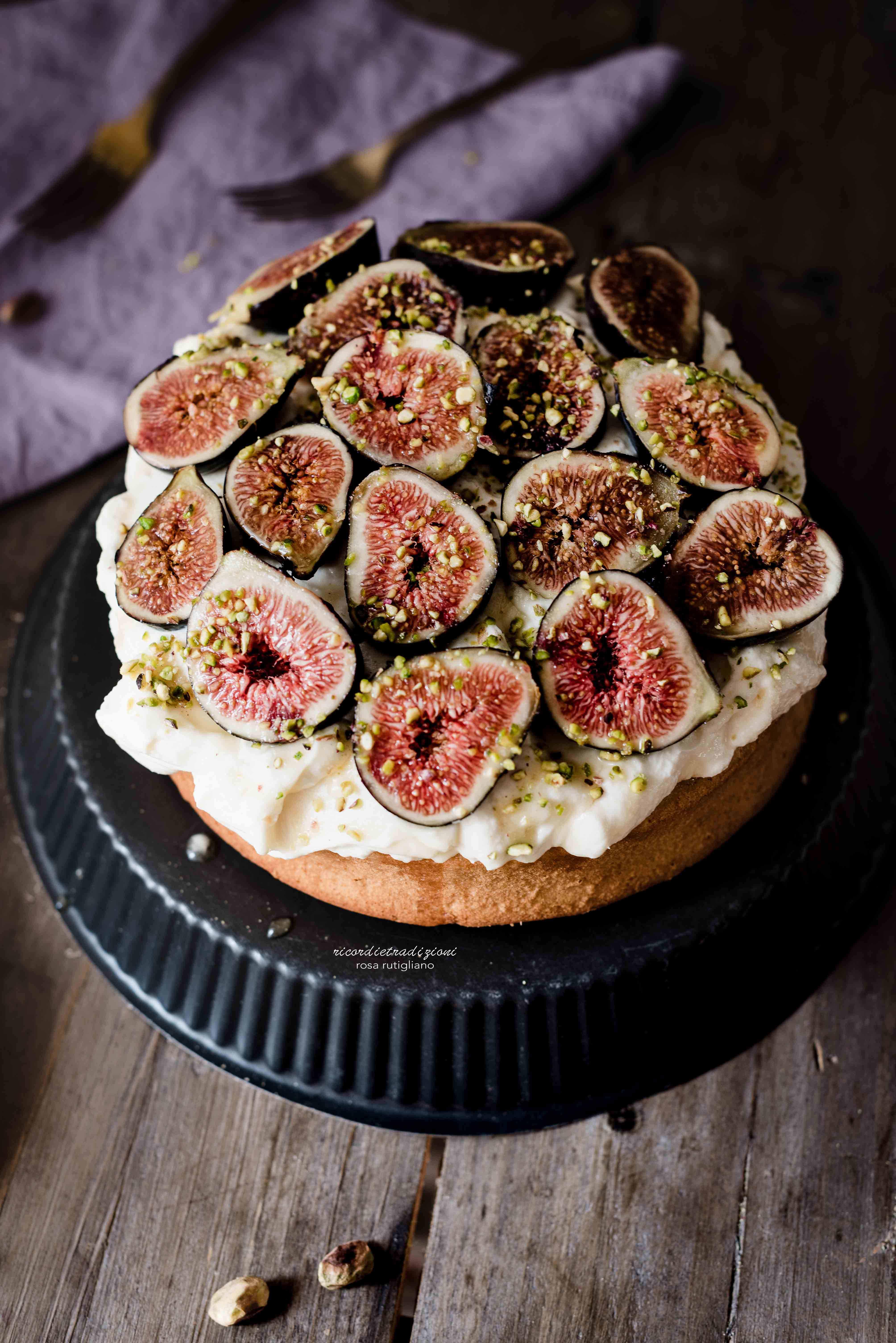 torta-mascarpone-fichi-miele-6