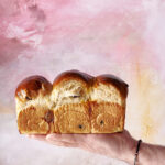 Pan brioche all'arancia e mirtilli – metodo yudane