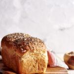 Pane morbido con semi vari – metodo Yudane