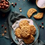 Biscotti granola con cocco e nocciole
